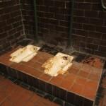 Karosta prison toilette