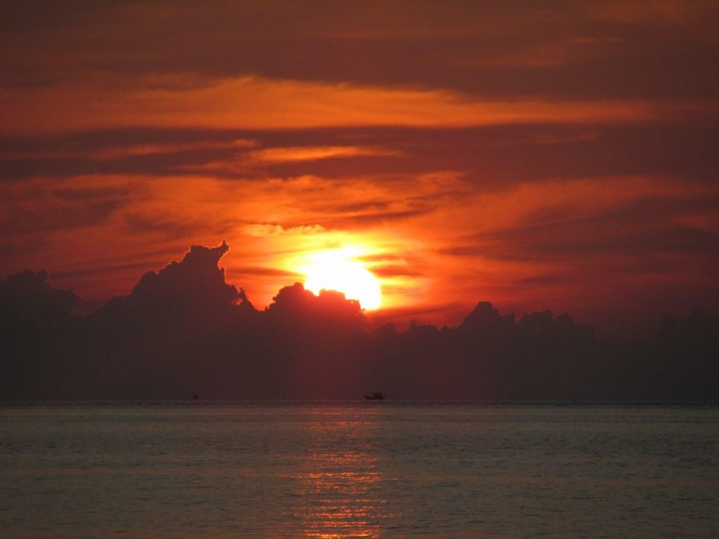 Sunset in Ko Phangan