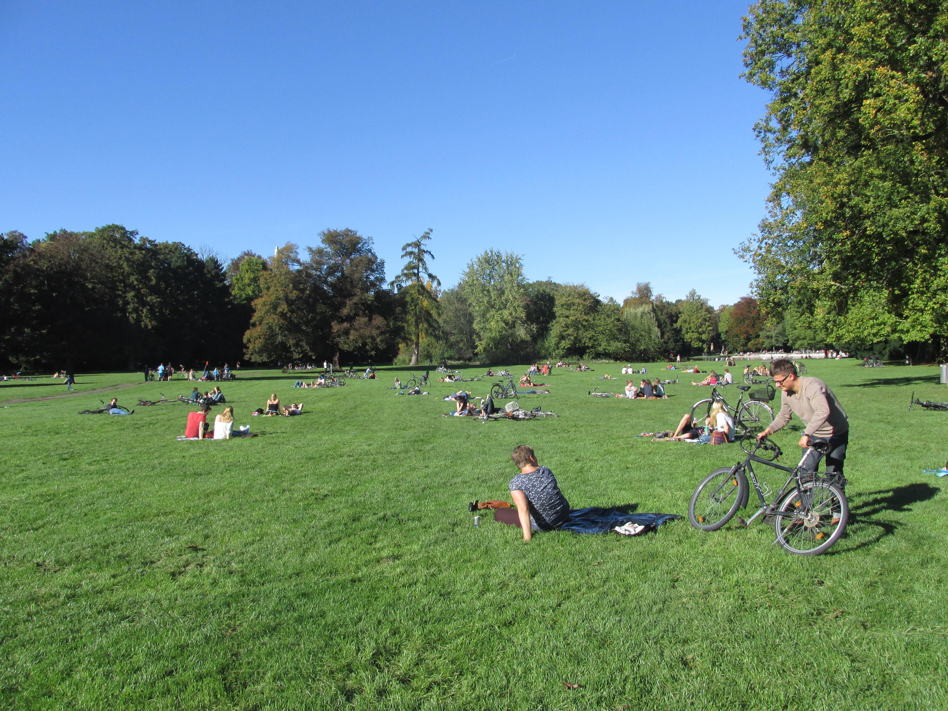 Karlsruhe Palace, il Parco