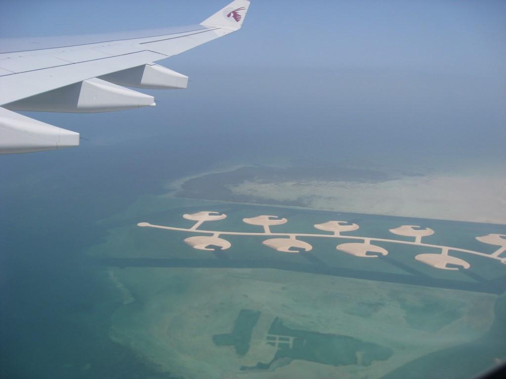 Qatar dall'alto