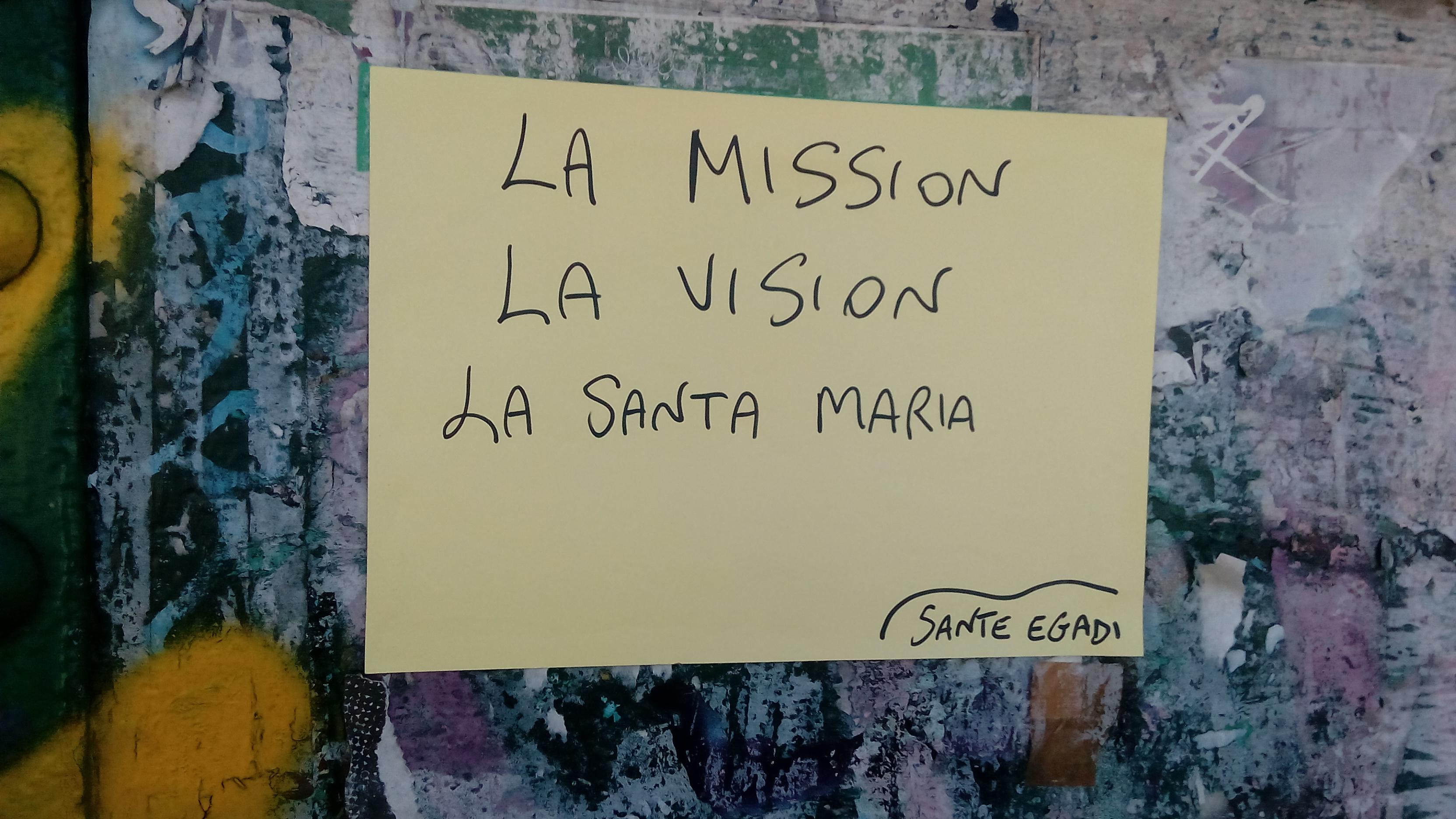 mission vision santa maria