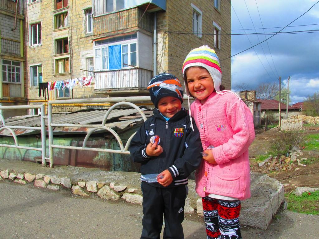 Bambini a Shoushi (Nagorno Karabakh)