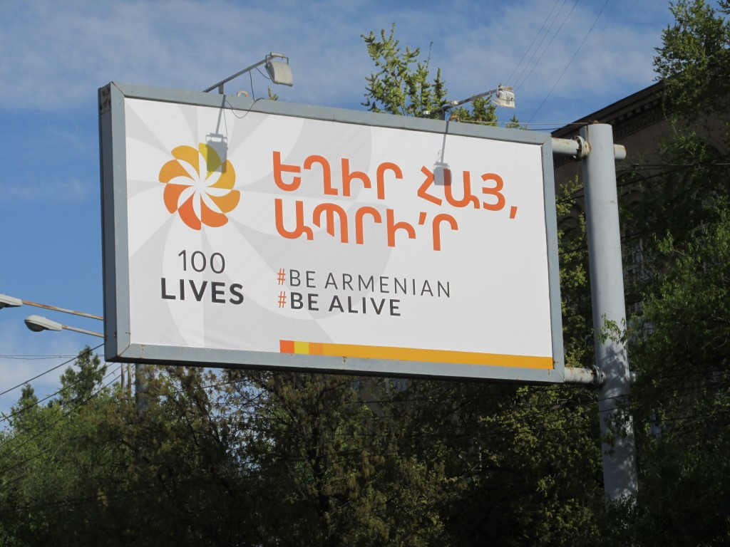 Yerevan, be Armenian, be alive