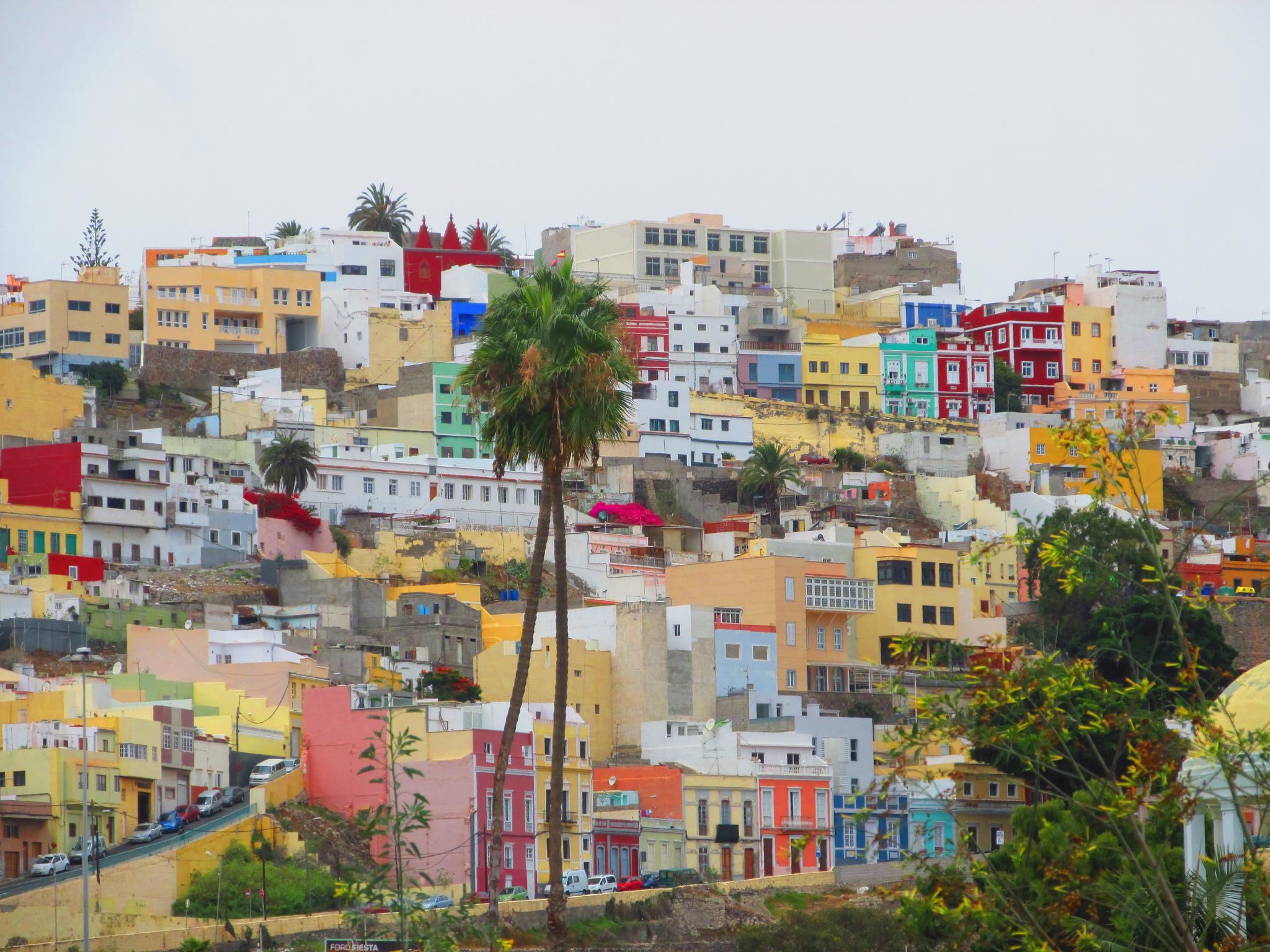Non è la Boca, nemmeno Genova, è un barrio alto di Las Palmas