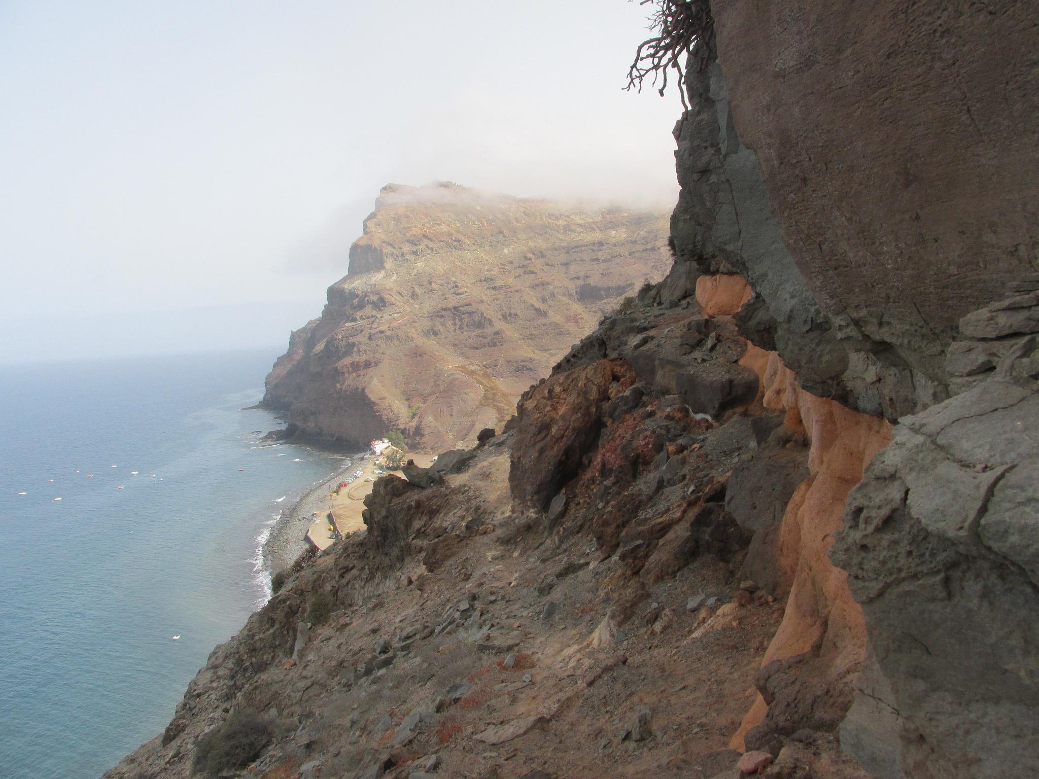 Sentiero che porta a Playa Tasarte