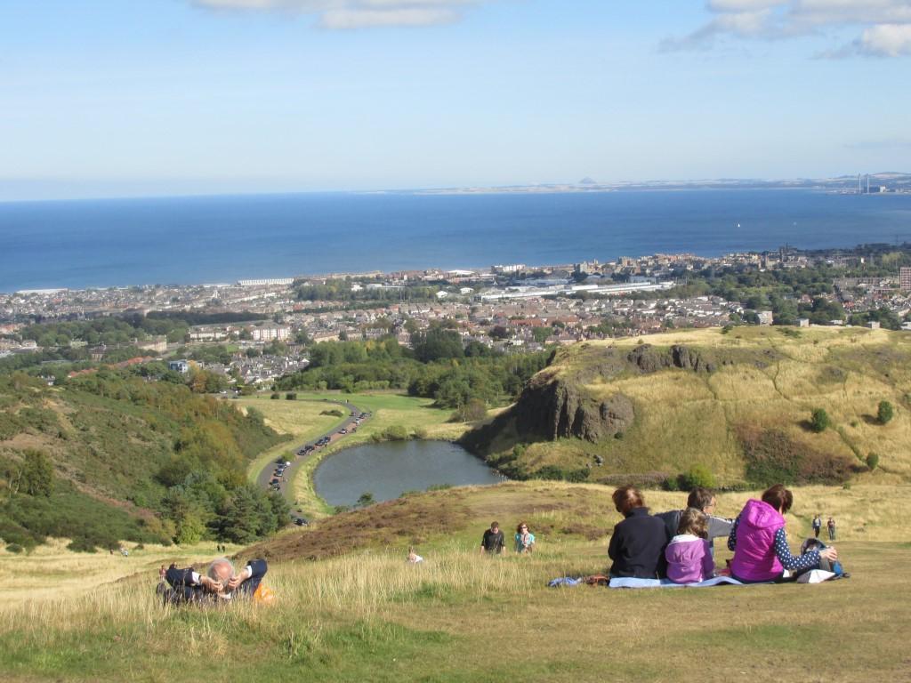 Edinburgh Artur's seat