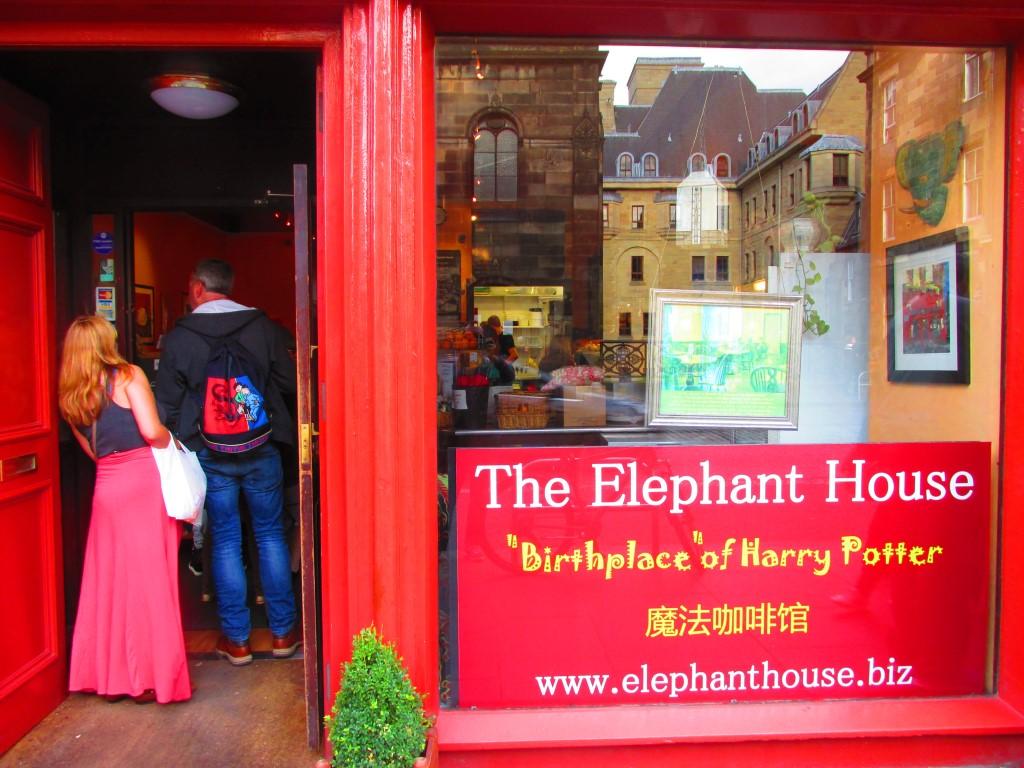 Elephant cafe Harry Potter