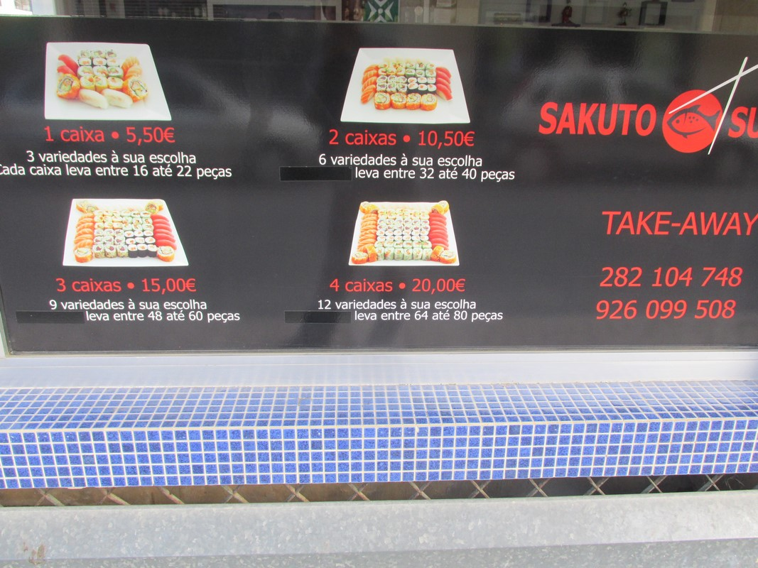 Portimao sushi