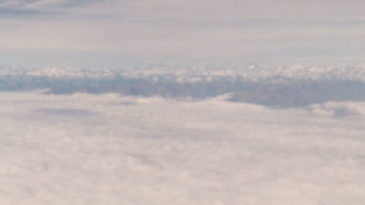 Alpi vista aerea
