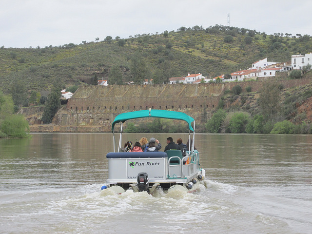 ferry Guadiana Alcoutim Pomarao