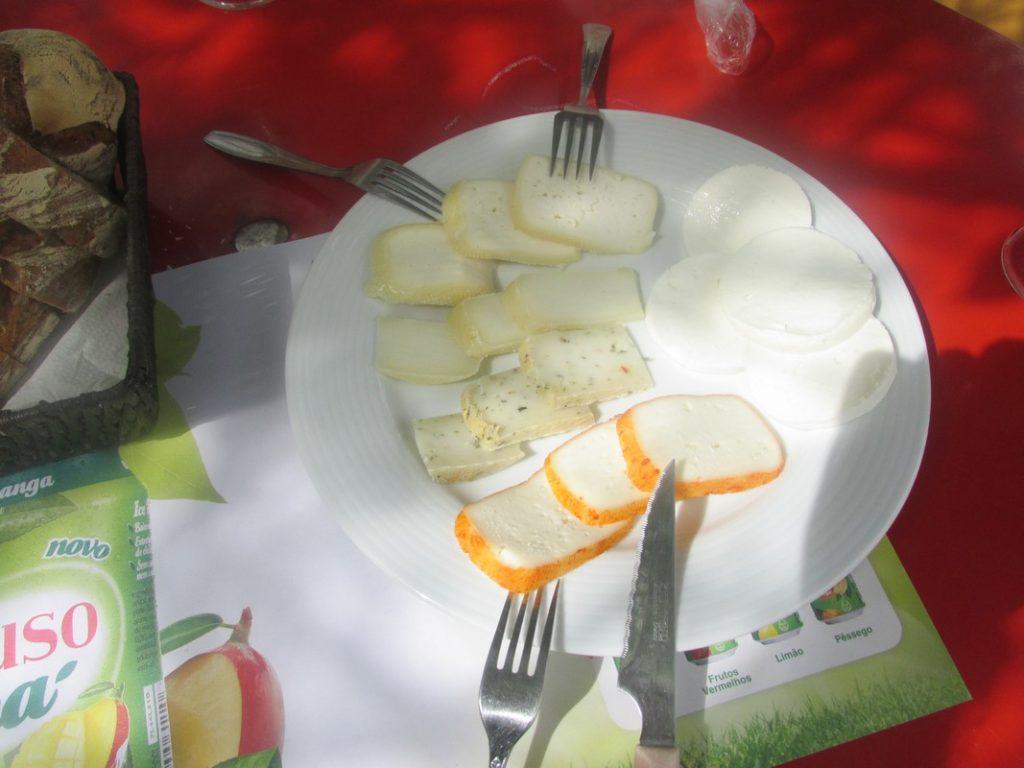 piatto di formaggi a rabacal