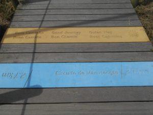 passerella legno Matosinhos Labruge