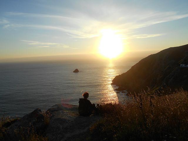 Fisterra tramonto