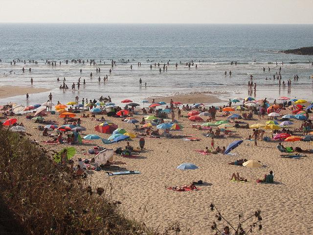 Praia de Odeceixe a Ferragosto