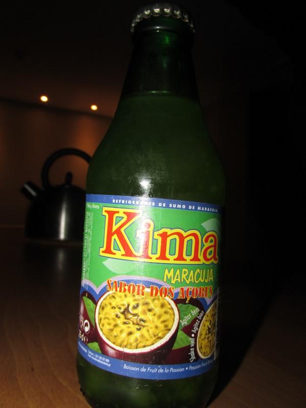 Kima, deliziosa bibita di maracuja