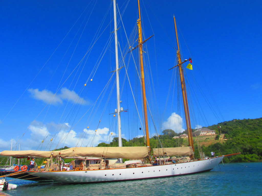 Antigua e Barbuda, Nelson dock yard