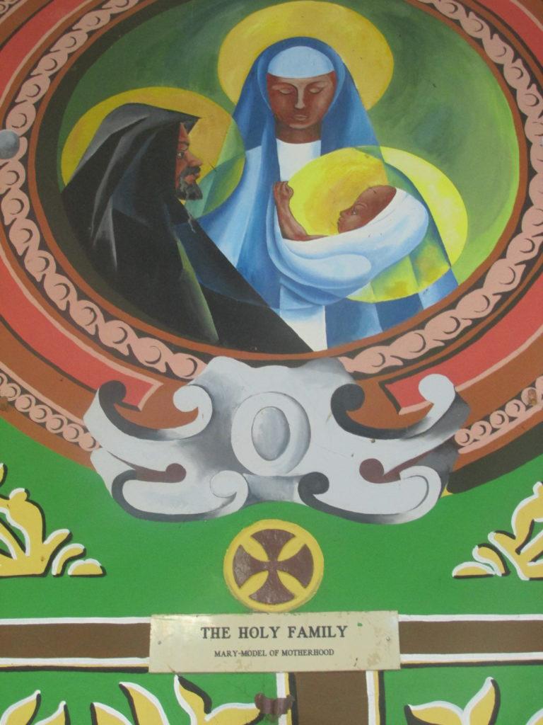 chiesa santi neri murales