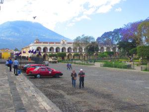 Antigua, piazza centrale