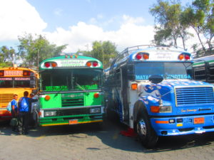 Chicken bus, un'Aventura, Honduras