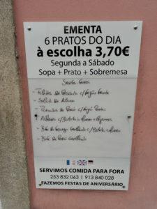 Dove mangiare in Portogallo