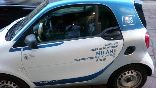 Milano, car 2 go
