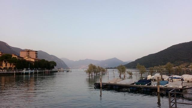 Sarnico, sul Lago Iseo