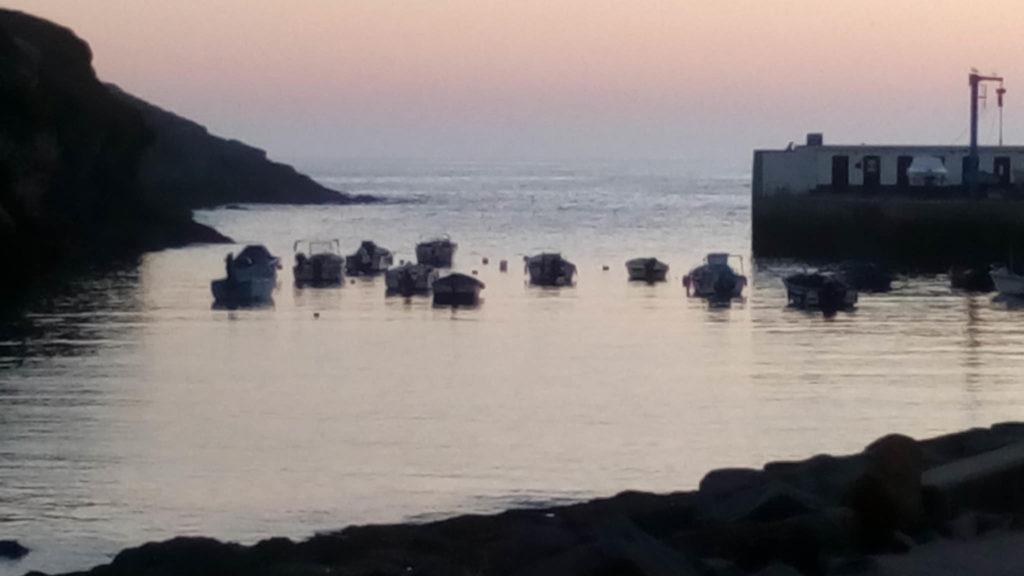Porto Covo al tramonto