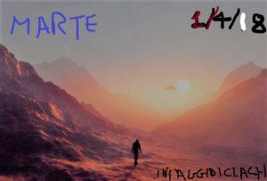 Clach, il primo travel blogger su Marte