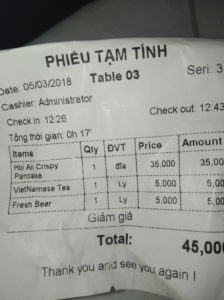 vero costo della vita in Hoi An