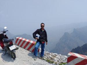 clach nord vietnam in moto