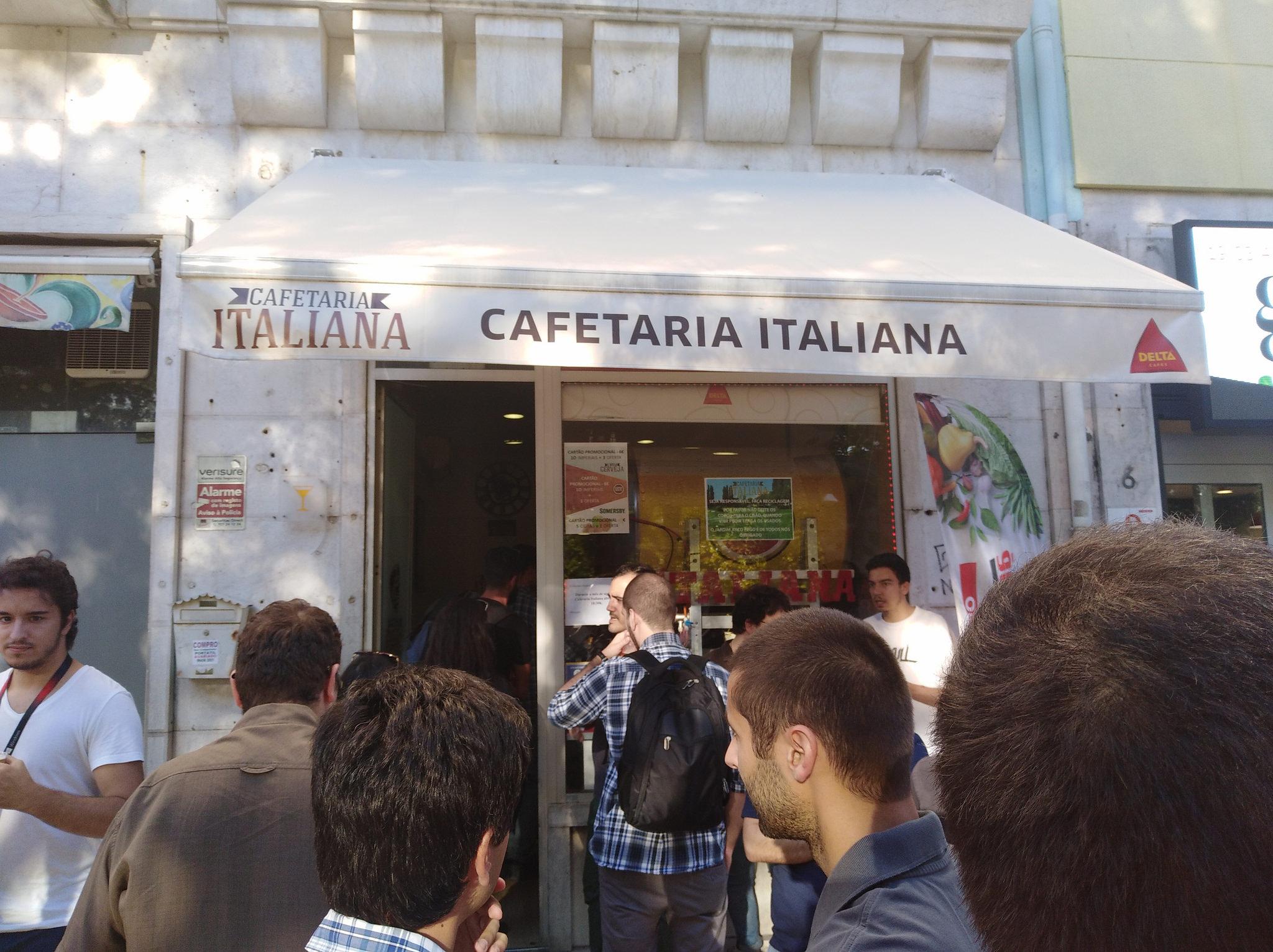 Cafetaria Italia, Arco dos Ciegos
