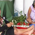 Pasifika Tuvalu woman