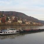 Heidelberg fiume Neckar