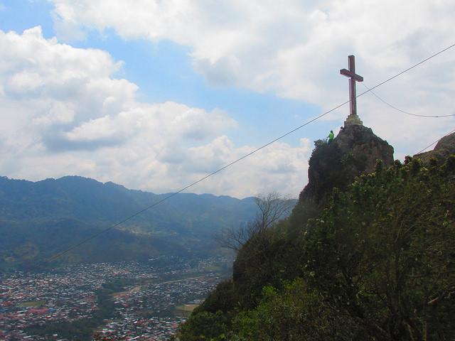 Il picco del Cerro Pena de la Cruz, jinotega