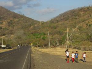Nicaragua frontiera canyon Somoto