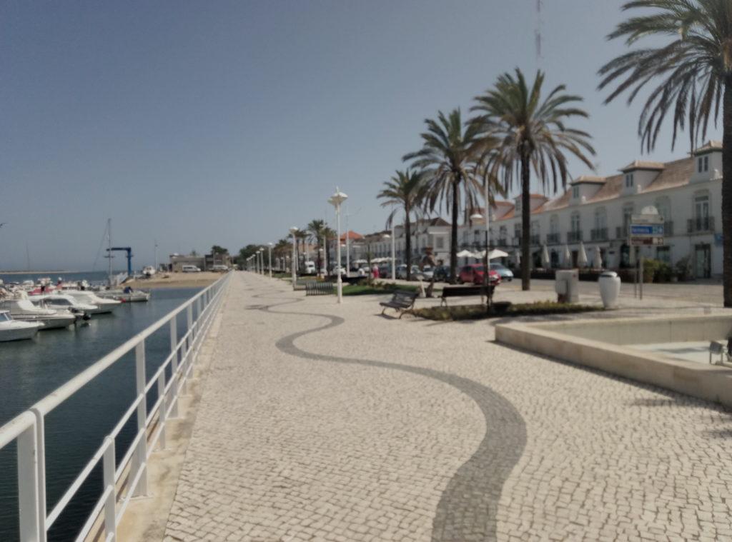 Vila Real Santo Antonio promenade